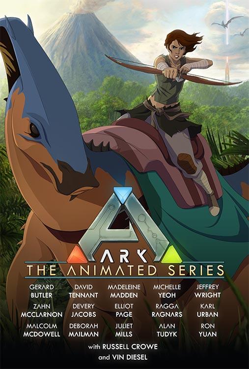 ARK: SURVIVAL EVOLVED wird zur Animationsserie mit zahlreichen Stars