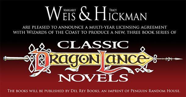Neue DRAGONLANCE-Romane von Margaret Weis &Tracy Hickman