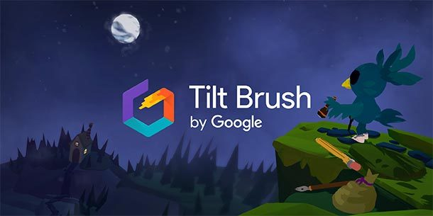VR: Googles Tilt Brush ist jetzt Open Source