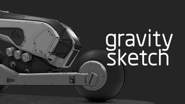 VR: 3D-Modelling Software Gravity Sketch ab sofort kostenlos