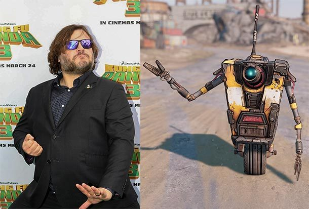 Jack Black spielt Roboter in BORDERLANDS Film