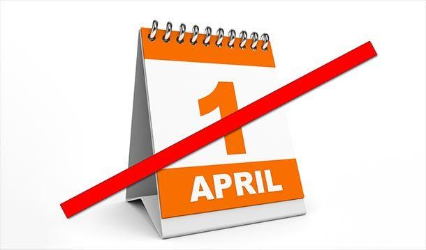1. April fällt aus – es existieren schon mehr als genug FakeNews