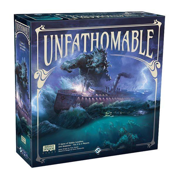 Fantasy Flight Games kündigen das Cthulhu-Brettspiel UNFATHOMABLE an