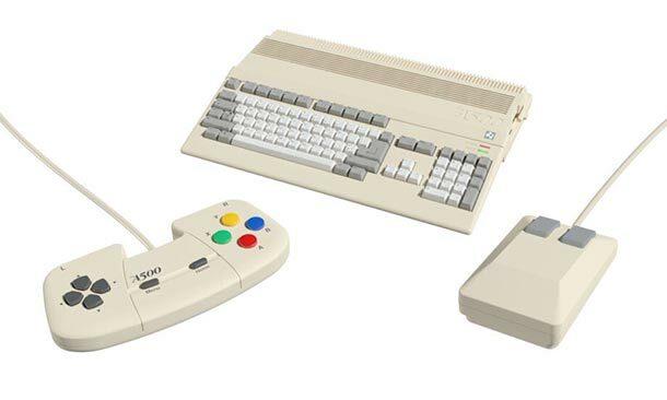 Retro Games Ltd. kündigen Amiga 500 Minian