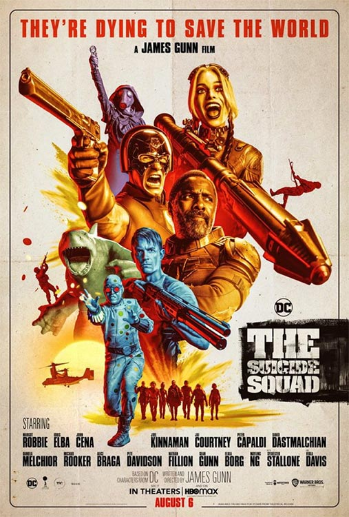 Camp as camp can: THE SUICIDE SQUAD