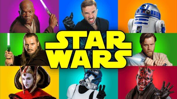 Peter Hollens &The Warp Zone: STAR WARS Prequels Medley